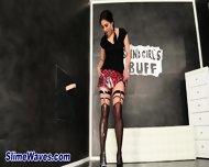 Masturbating Glam Whore - scene 4