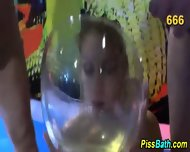 Skank Bathes In Urine - scene 8
