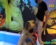 Skank Bathes In Urine - scene 3