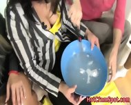 Clothed Babes Shave Creep - scene 1
