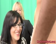 Clothed Babes Shave Creep - scene 9