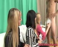 Clothed Babes Shave Creep - scene 2