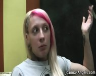 Black Goth Fingers Pussy - scene 6
