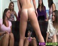 Party Teen Rides Strapon - scene 11