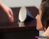 High School Teen Rammed - scene 1