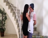 Swallowing Cougar Blows - scene 1
