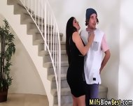 Swallowing Cougar Blows - scene 2