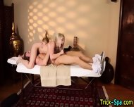 Cute Blonde Whore Swallow - scene 10