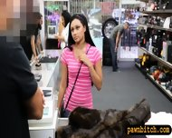 Cutie Tried To Sell Her Coat Got Fucked At The Pawnshop - scene 2