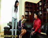 Lesbians Golden Shower - scene 2