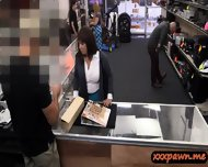 Busty Wife Sells Husband Stuff N Fucked Hard In The Pawnshop - scene 2