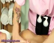 Babe Lesbian Massage - scene 10