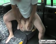 Short Haired Customer Analyzed With Fake Driver For Free - scene 6