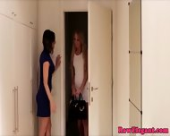 Stunning Analplay Lesbians From Europe - scene 3
