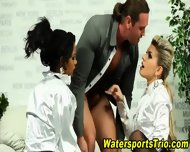 Watersports Threesome Sex - scene 5