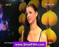European Slut In Threeway - scene 1