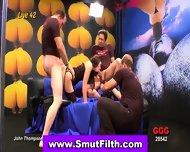 European Slut In Threeway - scene 12