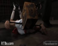 Useless Slut Is Playing Her Clits - scene 11