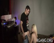 Two Girls Are Gangbanged - scene 6