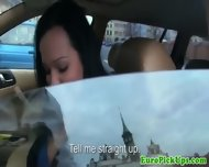 Perverted Cameraman Harasses A Female Taxi Driver - scene 10