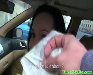 Perverted Cameraman Harasses A Female Taxi Driver - scene 11