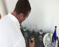 Coach Drills His Student - scene 1