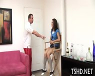 Coach Drills His Student - scene 7