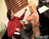 Teen Gets Her Pussy Checked Up - scene 8