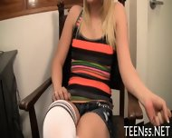 Teen Gets Her Pussy Checked Up - scene 2