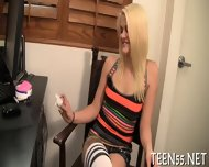 Teen Gets Her Pussy Checked Up - scene 3
