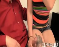 Teen Gets Her Pussy Checked Up - scene 6