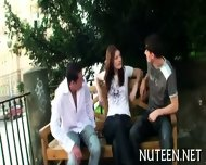 Stimulating A Hot Poon Tang - scene 1