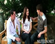 Stimulating A Hot Poon Tang - scene 3