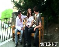 Stimulating A Hot Poon Tang - scene 4