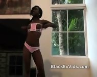 Black Ex Girlfriend Sucks White Dick - scene 8