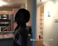 Black Ex Girlfriend Sucks White Dick - scene 4