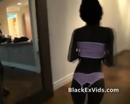 Black Ex Girlfriend Sucks White Dick - scene 5