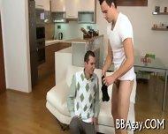 Licking A Huge Gay Pecker - scene 4