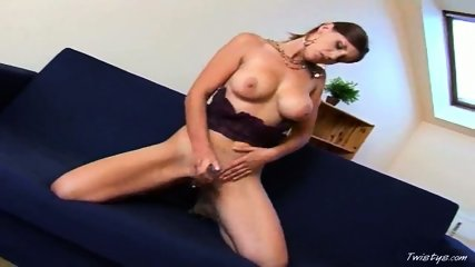Simi playing with Dildo - scene 1