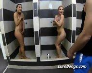 European Hookers Shower Before Blowjob - scene 1
