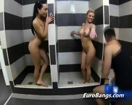 European Hookers Shower Before Blowjob - scene 2