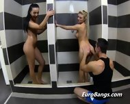 European Hookers Shower Before Blowjob - scene 3