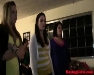 Naked Coed Teen Naughty Sorority Pledge - scene 7