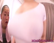 Curvy Japanese Ai Sayama Works Out On Cock - scene 1