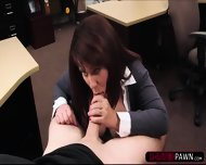 Big Tits Brunette Milf Wants To Sell Her Husbands Card Collection - scene 7