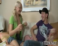 Stud Is Luring Babe With Kisses - scene 5