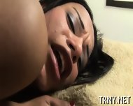 Cute Tranny Is Brutally Fucked - scene 12
