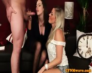 Cfnm Hottie Charlie Holays Sucking Cock - scene 10