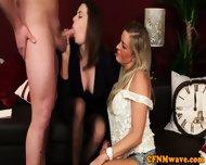 Cfnm Hottie Charlie Holays Sucking Cock - scene 11