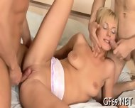 Teen Having Threesome - scene 8